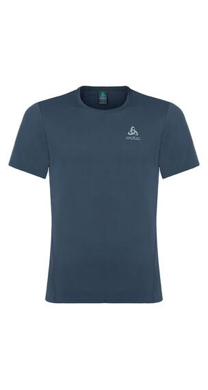 Odlo Imperium Løbe T-shirt Herrer grå/blå